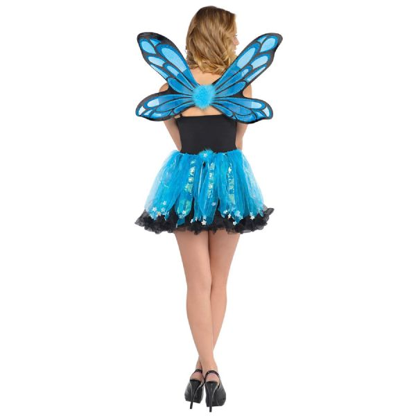 Blue Pixie Wings & Skirt Costume Kit